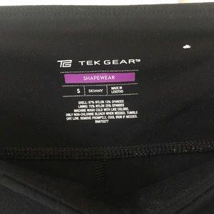 Tek Gear Superstretch black fitness pants